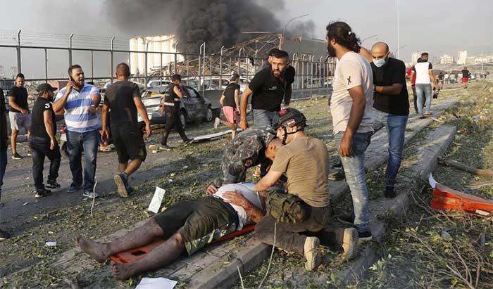 Chưa bao giờ người dân Beirut chứng kiến thảm họa nào tương tự như vụ nổ tại bến cảng.