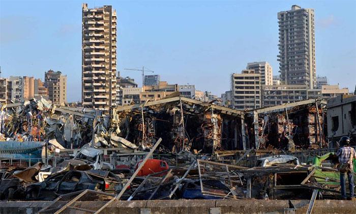 Thủ tướng Lebanon Hassan Diab xác nhận vụ nổ do 2.750 tấn phân bón amoni nitrat gây ra