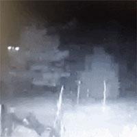 Phát hiện người ngoài hành tinh đang cho gà ăn trong đêm?