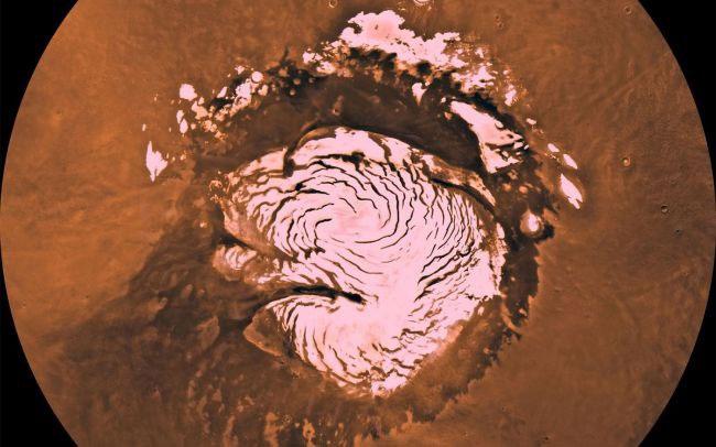 Bắc cực và Nam cực trên sao Hỏa