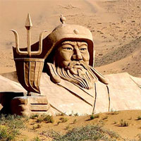 """Bí ẩn chưa sáng tỏ về Thành Cát Tư Hãn: """"Chiến thần"""" Mông Cổ thực tế là người """"tóc đỏ, mắt xanh""""?"""