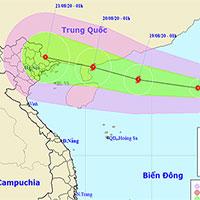 Áp thấp nhiệt đới vào biển Đông đang mạnh lên thành bão