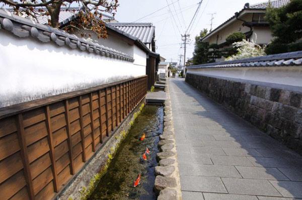 Thành phố Shimabara được xem là thành phố có đường thoát nước sạch nhất Nhật Bản