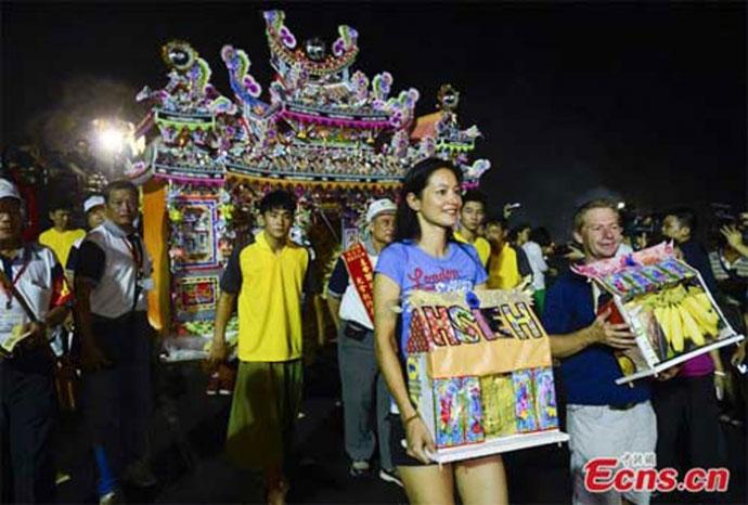 Lễ rước ma ở Đài Loan