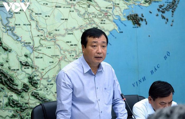 Ông Trần Quang Hoài - Phó trưởng Ban Chỉ đạo Trung ương về phòng chống thiên tai.