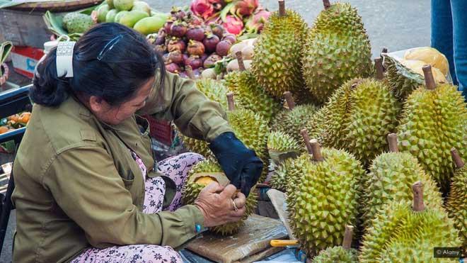Những trái sầu riêng nặng mùi có thể trở thành nguyên liệu cho một loại siêu tụ điện.