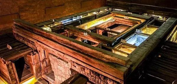 Quy mô hoành tráng của một lăng mộ hoàng đàn