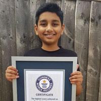 Thần đồng 10 tuổi lập Kỷ lục Guiness thế giới với khả năng làm toán siêu nhanh, nhìn thôi cũng khiến ai nấy hoa mắt chóng mặt