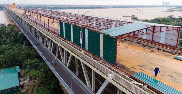 Tổng mức đầu tư dự án sửa chữa cầu Thăng Long là 269,3 tỉ đồng