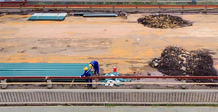 Riêng nội thành Hà Nội có 16 tuyến xe buýt đi qua cầu Thăng Long sẽ chuyển sang đi cầu Nhật Tân