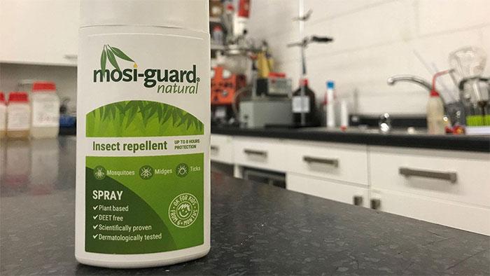 Thuốc diệt côn trùng Mosi-guard có thành phần Citriodiol