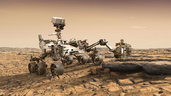 Rover tự hành Perseverance trên sao Hỏa