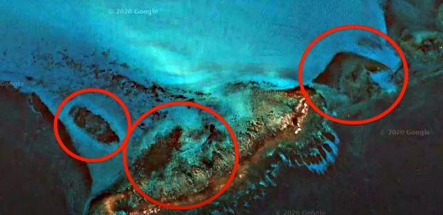 Kim tự tháp dưới lòng đại dương ở Cuba