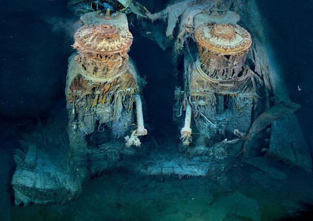 Xác tàu RMS Titanic vẽ nên một bức tranh rùng rợn về hậu quả của thảm kịch trên biển nổi tiếng nhất lịch sử