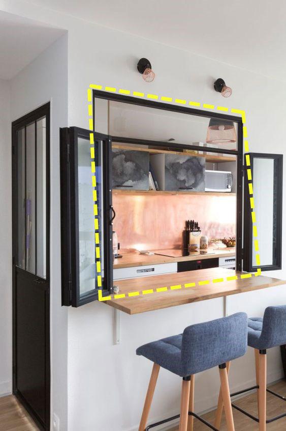 Ba chi tiết này có thể giải quyết vấn đề ánh sáng kém trong nhà bếp không có cửa sổ.