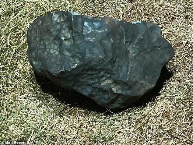Những mảnh thiên thạch rơi xuống thị trấn Brazil có giá trị rất lớn.