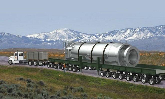 Thiết kế lò phản ứng hạt nhân cỡ nhỏ của NuScale.