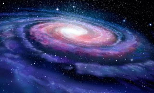 Trong một năm thiên hà, hay còn gọi là một năm vũ trụ, Mặt trời đi hết một vòng quanh dải Ngân Hà.