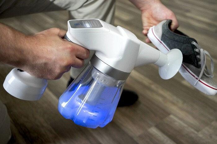 Bình phun tạo nước điện giải