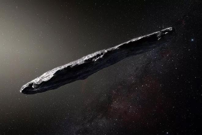 """Thiên thạch Oumuamua, thiên thể liên sao đầu tiên """"thăm viếng"""" Hệ Mặt Trời."""
