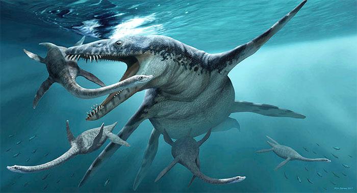 Vua biển cả Liopleurodon.