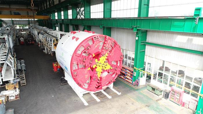 Dự kiến tháng 3/2021 nhà thầu bắt đầu khoan đào những mét đường hầm đầu tiên của dự án