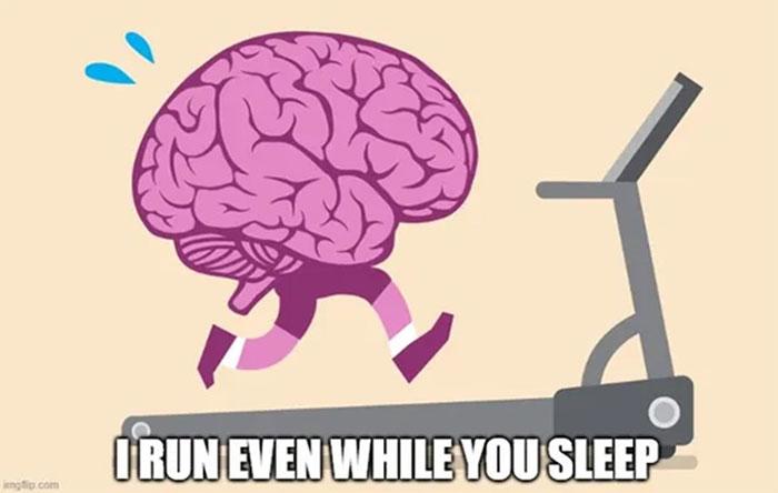 Trung bình toàn bộ não sẽ tiêu thụ khoảng 0.25 calo mỗi phút.