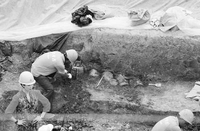 Bộ chuông quý được tìm thấy trong quá trình khai quật