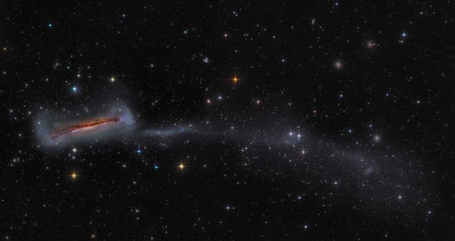 Bức ảnh giải nhì trong mục Thiên hà.