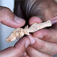 Phát hiện hàng loạt đồ tạo tác từ xương dê 2.500 năm tuổi