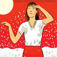 Tại sao mồ hôi của bạn đôi khi có mùi khai như mùi amoniac?
