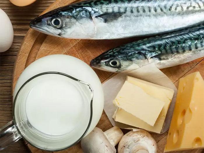 Sữa và hải sản là hai sản phẩm kỵ nhau