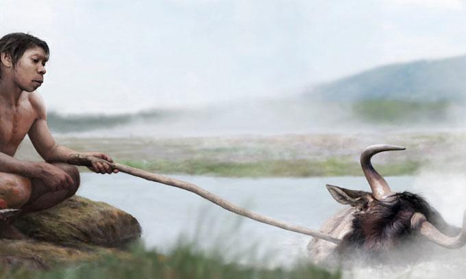 Tổ tiên của người hiện đại có thể đun thức ăn dưới suối nước nóng.