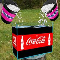 """Tái hiện thí nghiệm """"Coke - Mentos"""" bằng 10.000 lít nước ngọt và cái kết"""