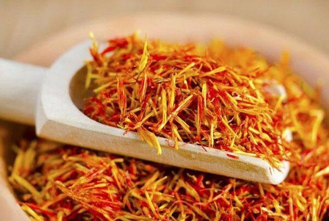 Nhụy hoa nghệ tây (Saffron), Tây Á