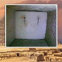 Phát hiện sửng sốt sau cánh cửa bí mật bên trong kim tự tháp Ai Cập