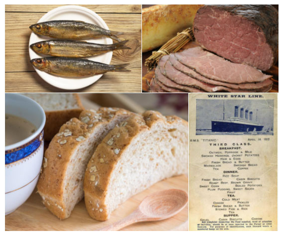 Bánh mì và trái cây được cung cấp hàng ngày.