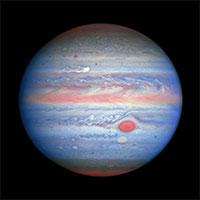 NASA phát hiệu siêu bão khổng lồ có tốc độ 560km/h hình thành trên sao Mộc
