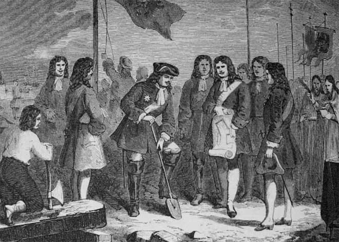 Peter Đại đế ra quy định đất đai chỉ có thể được sở hữu bởi những người phục vụ cho nhà nước.