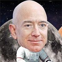 """Tham vọng """"điên rồ"""" của Elon Musk và Jeff Bezos"""
