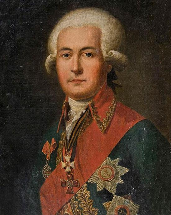 Tướng Nga Ivan Zaborovsky.