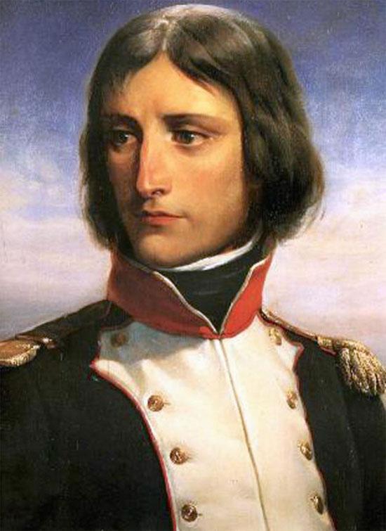 Napoléon Bonaparte vào năm 1792, trong biên chế của tiểu đoàn 1 Vệ binh quốc gia Pháp.