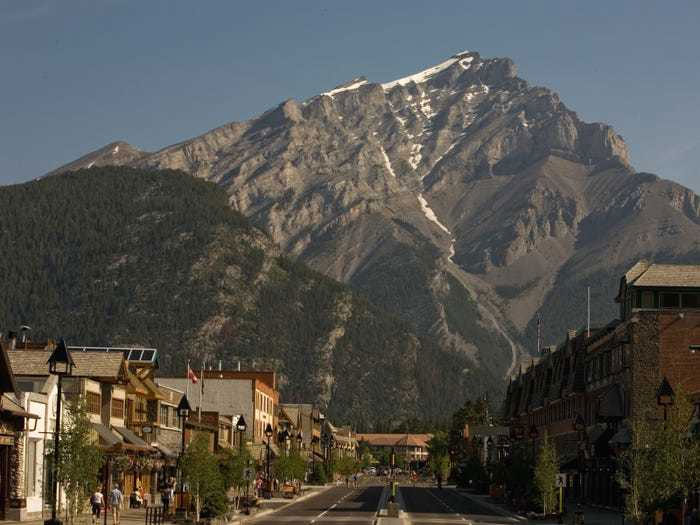 Thị trấn Banff