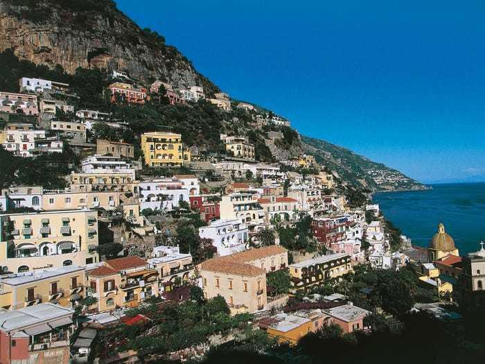 Thị trấn Positano