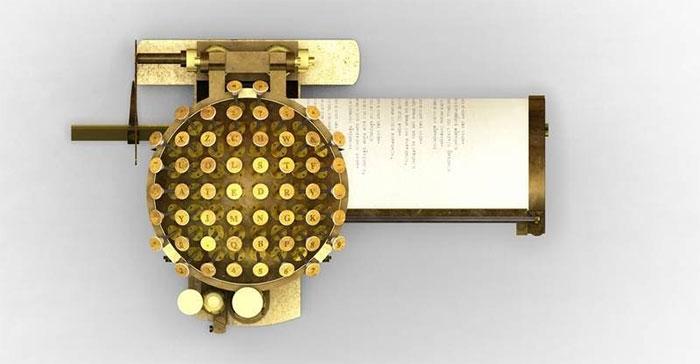 Máy đánh chữ Malling-Hansen