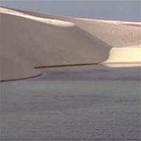 Vì sao sa mạc Lencois Maranhenses lại có hàng nghìn hồ chứa nước?