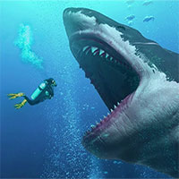 """""""Rợn người"""" cách để siêu cá mập Megalodon có thể dài tới hơn 18 mét"""