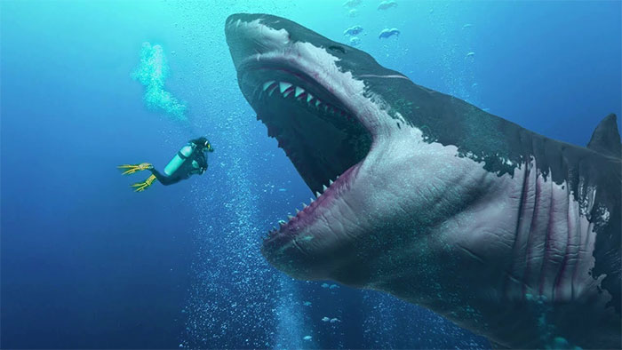 Megalodon – loài cá mập khổng lồ ăn thịt cả đồng loại khi còn trong bụng mẹ.