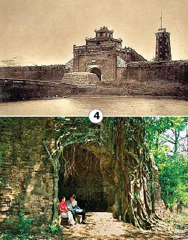 Thành cổ Sơn Tây xưa và nay.