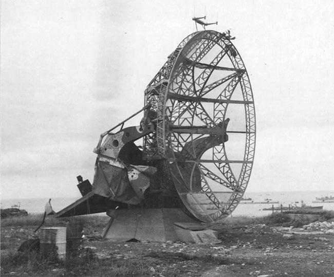 Một đài radar cảnh giới trong Thế chiến II.